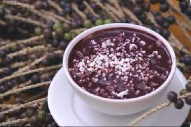açaí tipical drink is frut from the amazon jungle