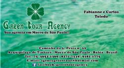 Logomarca Green Tour Agency