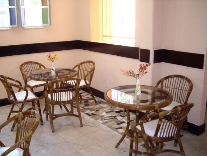 Area onde � servido o cafe da manha.
