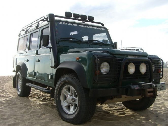 Land Rover do Partidas e Chegadas