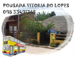 Logomarca POUSADA VITORIA DO LOPES