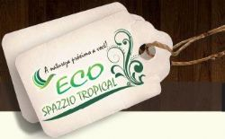 Logomarca ECO SPAZZIO TROPICAL
