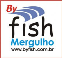 Logomarca By Fish Mergulho
