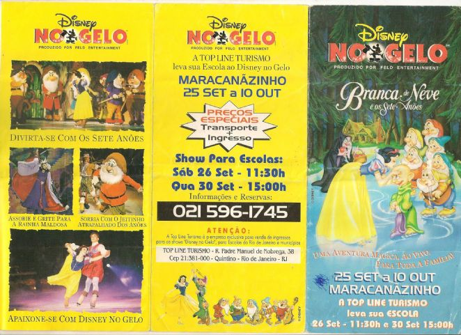 DISNEY ON ICE - A BRANCA DE NEVE E OS SETE ANÕES