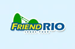 Logomarca Friend Rio Legal Tour