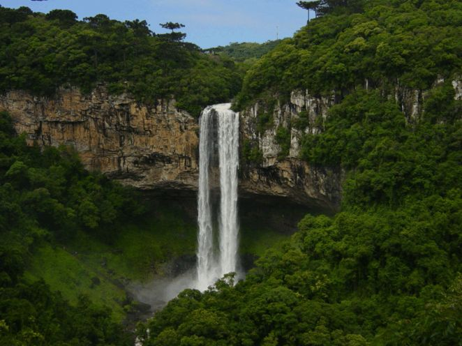 CASCATA DO CAROCOL/CANELA/RS