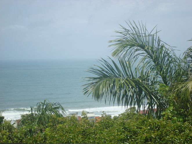Brava beach - view from the village