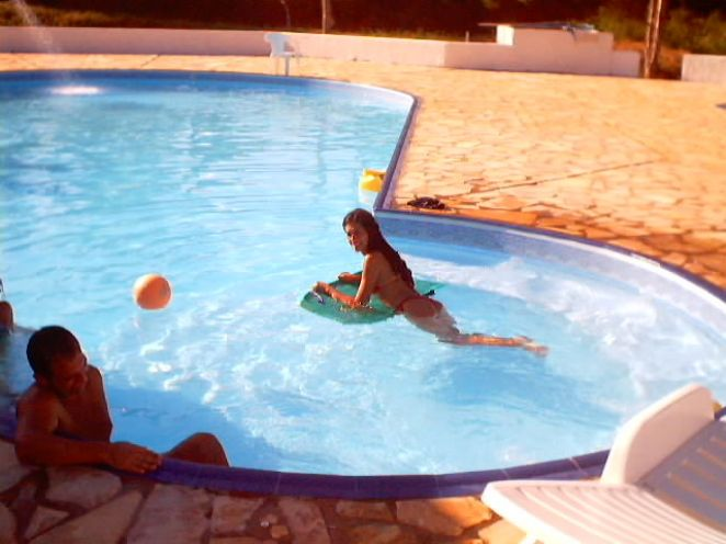 Piscina Artificial com Hidromassagem