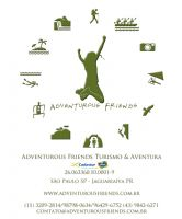 Logomarca Adventurous Friends Turismo & Aventura