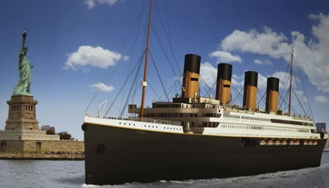 �Fan�ticos� pagam at� US$ 1 milh�o por viagem inaugural do novo Titanic