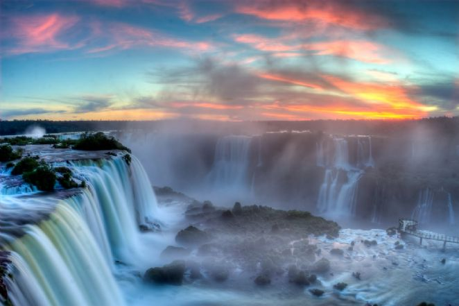 Confira 20 fotos paradisacas das cataratas do iguau turismo as cataratas da foz do iguau so um dos locais mais visitados por turistas no pas foto sf brit thecheapjerseys